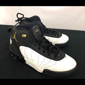Air Jordan Jumpman Pro Kids Youth Black White 3Y 3